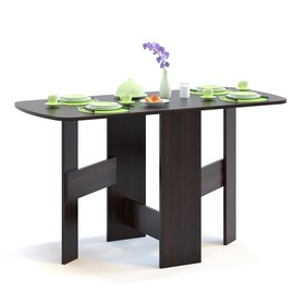 Стол-книжка, 260 / 1300 × 600 × 740 мм, цвет венге