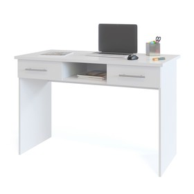 Письменный стол, 1200 × 600 × 790 мм, цвет белый