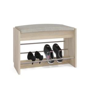 Обувница, 600 × 281 × 438 мм, цвет дуб сонома