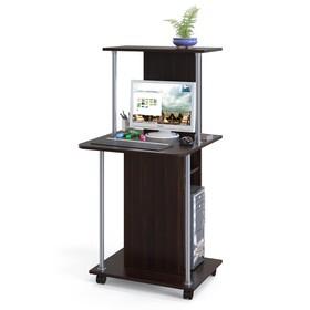Компьютерный стол, 600 × 600 × 1255 мм, цвет венге