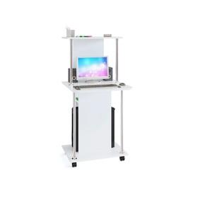 Компьютерный стол, 600 × 600 × 1255 мм, цвет белый