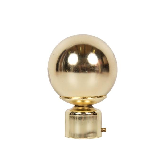 Наконечник «Пешка», 2 шт, цвет золото глянец