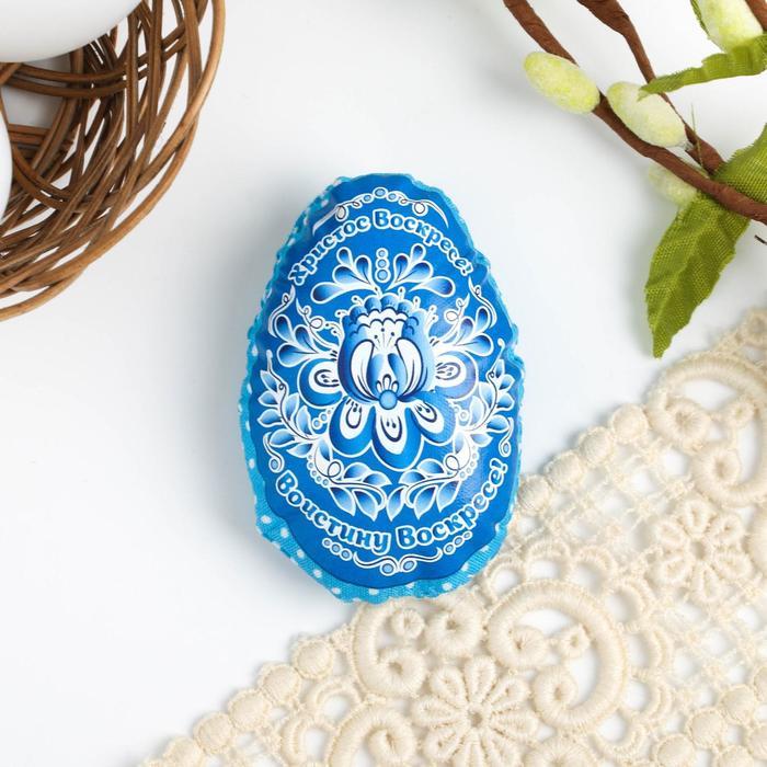 Пасхальный сувенир на магните «Христос Воскресе», 6 × 8 см