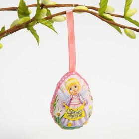 Пасхальный сувенир на ленте «Ангелочек», 6 × 8 см в Донецке