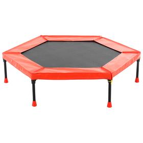 Батут Leco-IT Home, d=120 см, красный