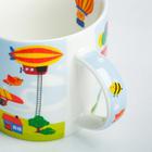 Набор детской посуды «Пилот»: кружка 250 мл, тарелка Ø 17.5 см, салфетка 35 × 22 см - фото 968592
