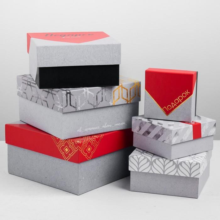 Набор подарочных коробок 6 в 1 Celebration, 8 × 8 × 4.5‒18 × 18 × 9.5 см
