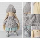 Интерьерная кукла «Лика», набор для шитья, 18 × 22.5 × 4.5 см - фото 100547