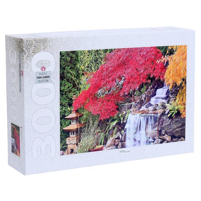 Пазл «Водопад в японском саду», 3000 элементов