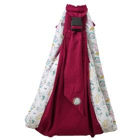 Слинг Polini kids Disney «Последний богатырь» с вышивкой, лес, цвет розовый Ош