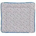 Доска пеленальная Polini kids мягкая  «Единорог» Радуга, 77 х 72 см, цвет голубой