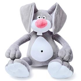 Мягкая игрушка «Кролик Эрни», 62 см, цвет серый
