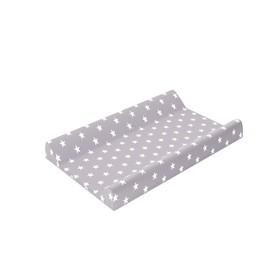 Доска пеленальная для комода с ванночкой Polini Kids Basic 3275, «Звёзды», цвет белый-серый