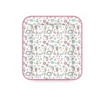 Доска пеленальная Polini kids мягкая  «Единорог» Сладости, 77 х 72 см, цвет розовый