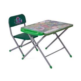 Комплект детской мебели Polini kids 103 Тролли, цвет зелёный