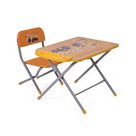 Комплект детской мебели Polini kids 103 Гадкий я, цвет жёлтый