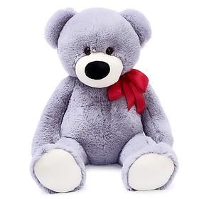Мягкая игрушка «Медведь Марк», 80 см, цвет серый