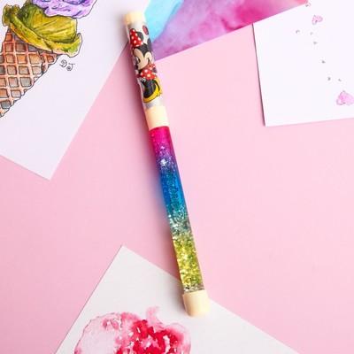 Ручка с играющими блёстками, Минни Маус, Disney