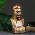 Бюст Сталина, бронза 12х24см