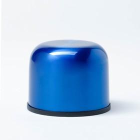 """Термос """"Мастер К"""", 750 мл (Гарантия 5 лет), сохраняет тепло 24 ч, синий - фото 66429"""