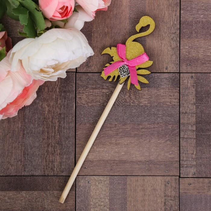 Декоративный штекер «Фламинго», 7 × 14 см