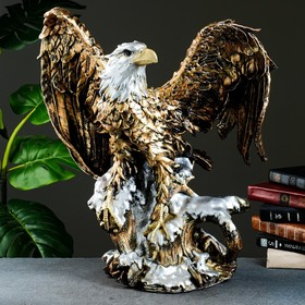 """Фигура """"Орел большой с крыльями"""" бронза, 52х37х57см"""
