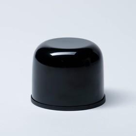 """Термос """"Мастер К"""", 750 мл , сохраняет тепло 24 ч, чёрный - фото 1965781"""