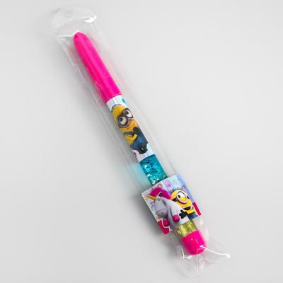 """Pen with sparkling sequins """"Unicorn"""", MINIONS"""