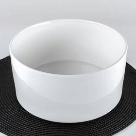 Салатник, 3,63 л, цвет белый