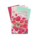 Папка для пастели А4, «Страна чудес. Сон в маковом поле», 8 листов, 4 цвета, 160 г/м²
