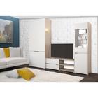 Гостиная «Анталия», МДФ, цвет сономо, белый софт