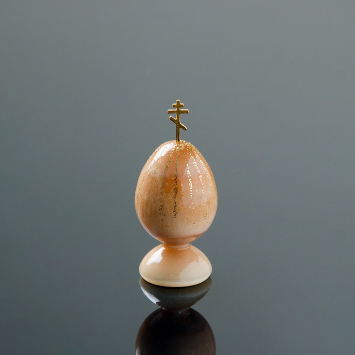 Сувенир «Яйцо», малое, на подставке, 7×3 см, селенит