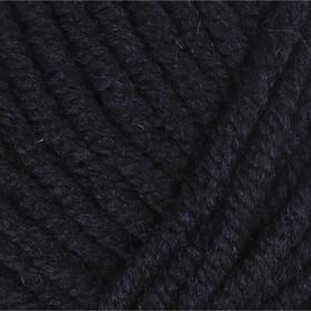 """Пряжа """"Lana Grace Grande"""" 25% шерсть мериноса, 75% акрил 65м/100гр (0107 т. синий) - фото 7308520"""