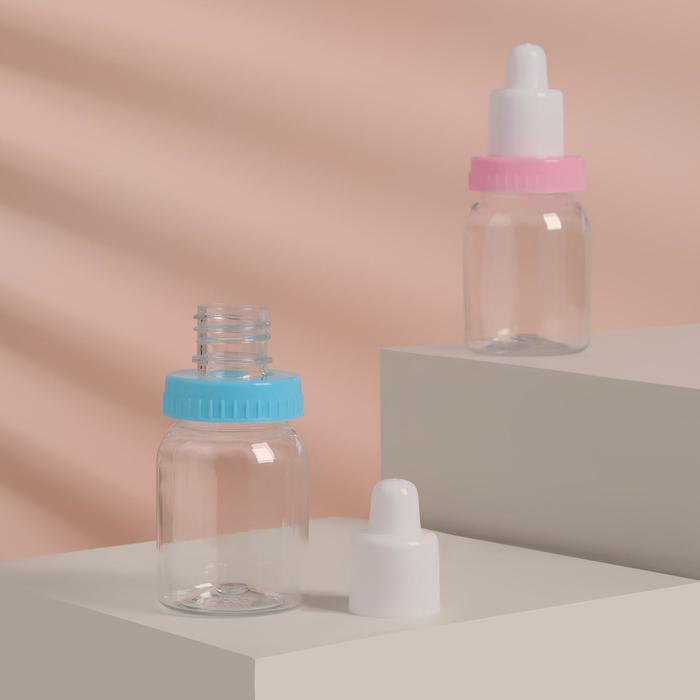 Бутылочка для хранения, 50 мл, цвет белый/МИКС