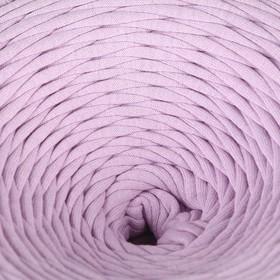 Пряжа трикотажная лицевая 100м/320±15гр, ширина нити 7-8 мм (Лиловый)