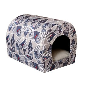 Домик-тоннель Морской, ткань оксфорд, 35 х 26 х 26 см