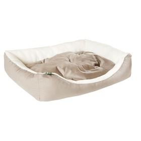 "Лежанка ""Пухлик"" Мокко, мебельная ткань, 90 х 60 х 20 см"