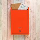 Ящик почтовый «Альфа», с замком, оранжевый