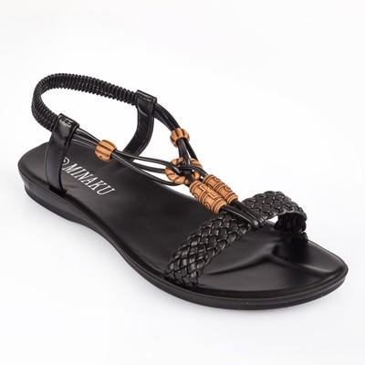 Сандалии женские MINAKU, черный, размер 38