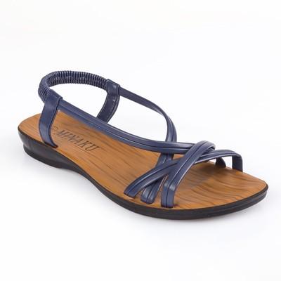 Сандалии женские MINAKU, синий, размер 37