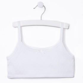 Лиф, цвет белый, рост 110-116 см
