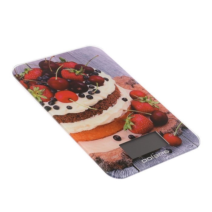 Весы кухонные Polaris PKS 0742DG электронные, рисунок