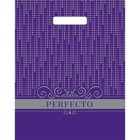 """Пакет """"Перфекто Диджитал"""", полиэтиленовый с вырубной ручкой, 30 х 37 см, 90 мкм"""