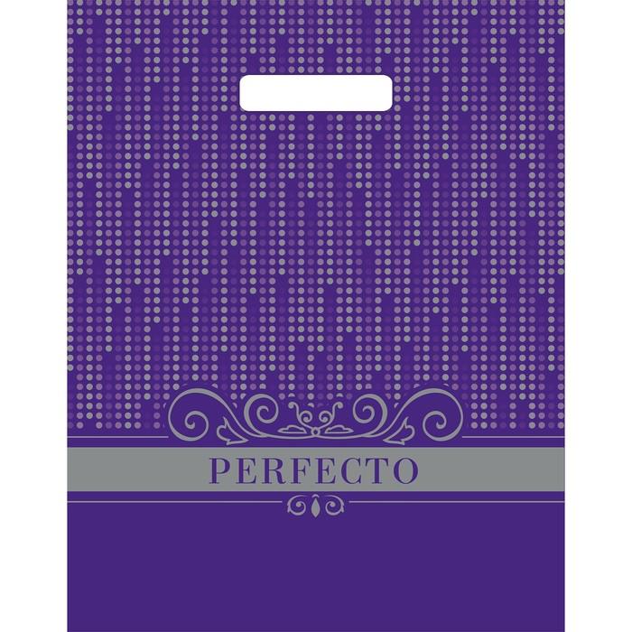 """Пакет """"Перфекто Диджитал"""", полиэтиленовый с вырубной ручкой, 30 х 37 см, 90 мкм - фото 308983563"""