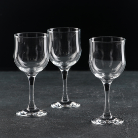 Набор бокалов для красного вина Tulipe, 240 мл, 3 шт