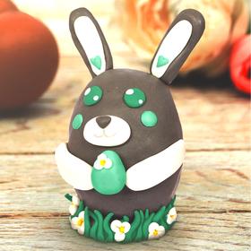 Набор для творчества. Декор яиц полимерной глиной «Заяц с яичком»