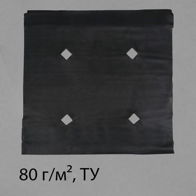 Материал мульчирующий с перфорацией, 5 × 1,6 м