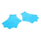 Перчатки для пловца с перепонками SL7-5, взрослые, силикон, цвета МИКС