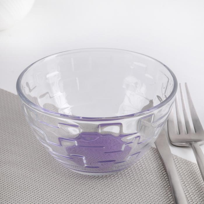 """Салатник 250 мл """"Джем"""", цвет фиолетовый"""