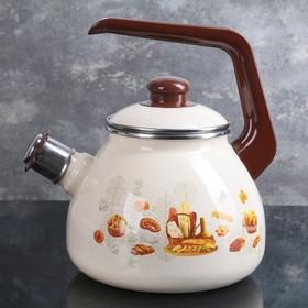 "Чайник 3 л ""Хлебная корзина"", со свистком"